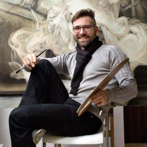 Marek Slavík, artist, painter / umělec malíř